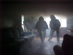 Attack Crew in front door